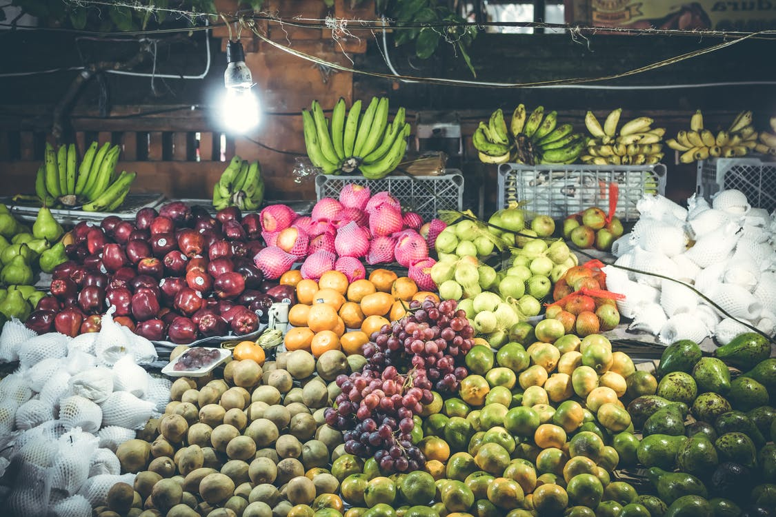 Assorted Fruit Stand