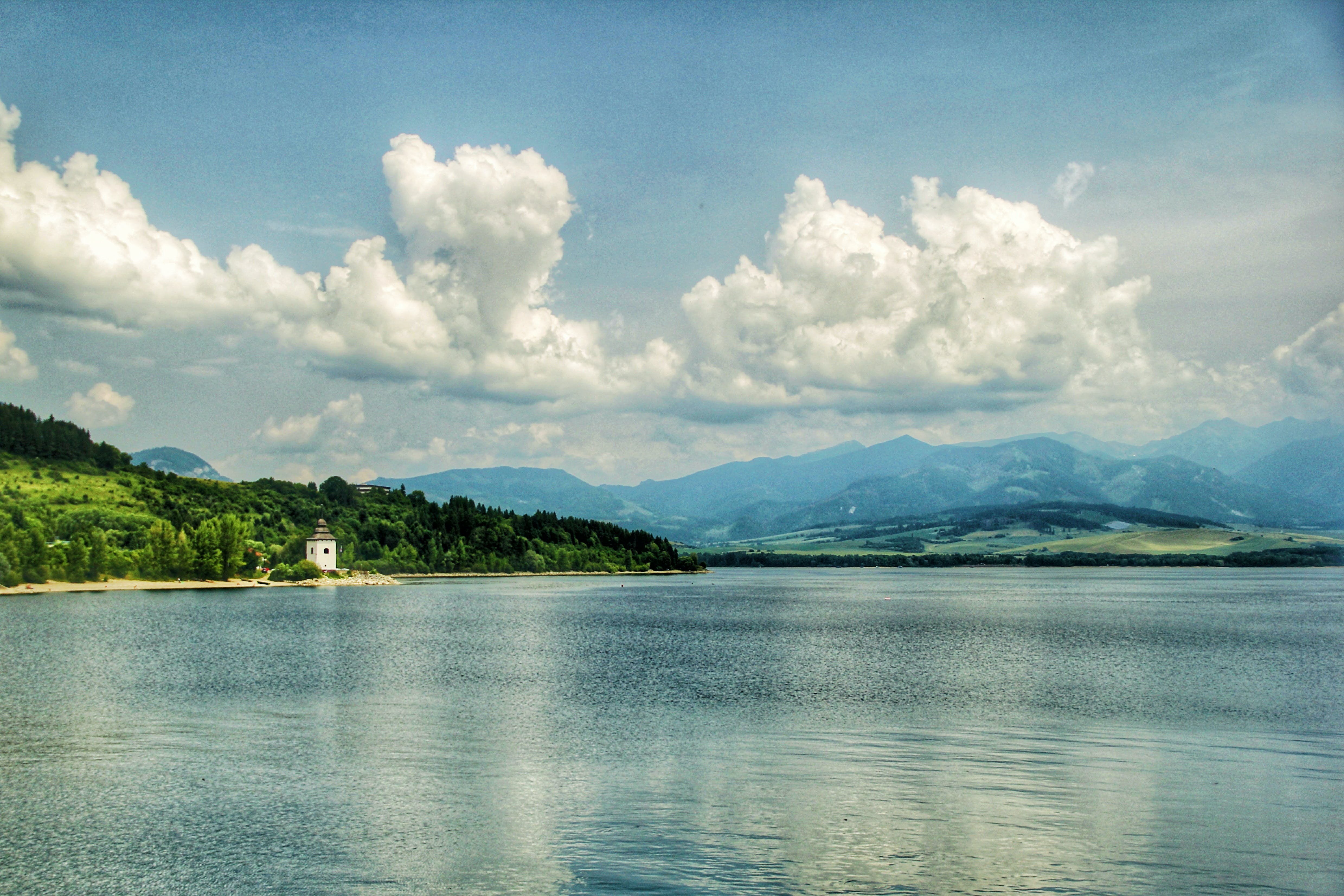 Fotos de stock gratuitas de agua, cielo azul, Eslovaquia, Iglesia