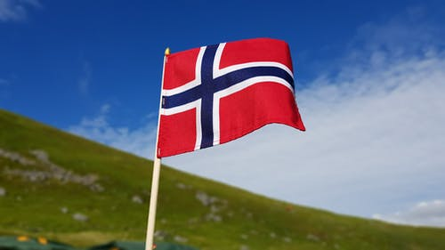 Free stock photo of norway, norway flag