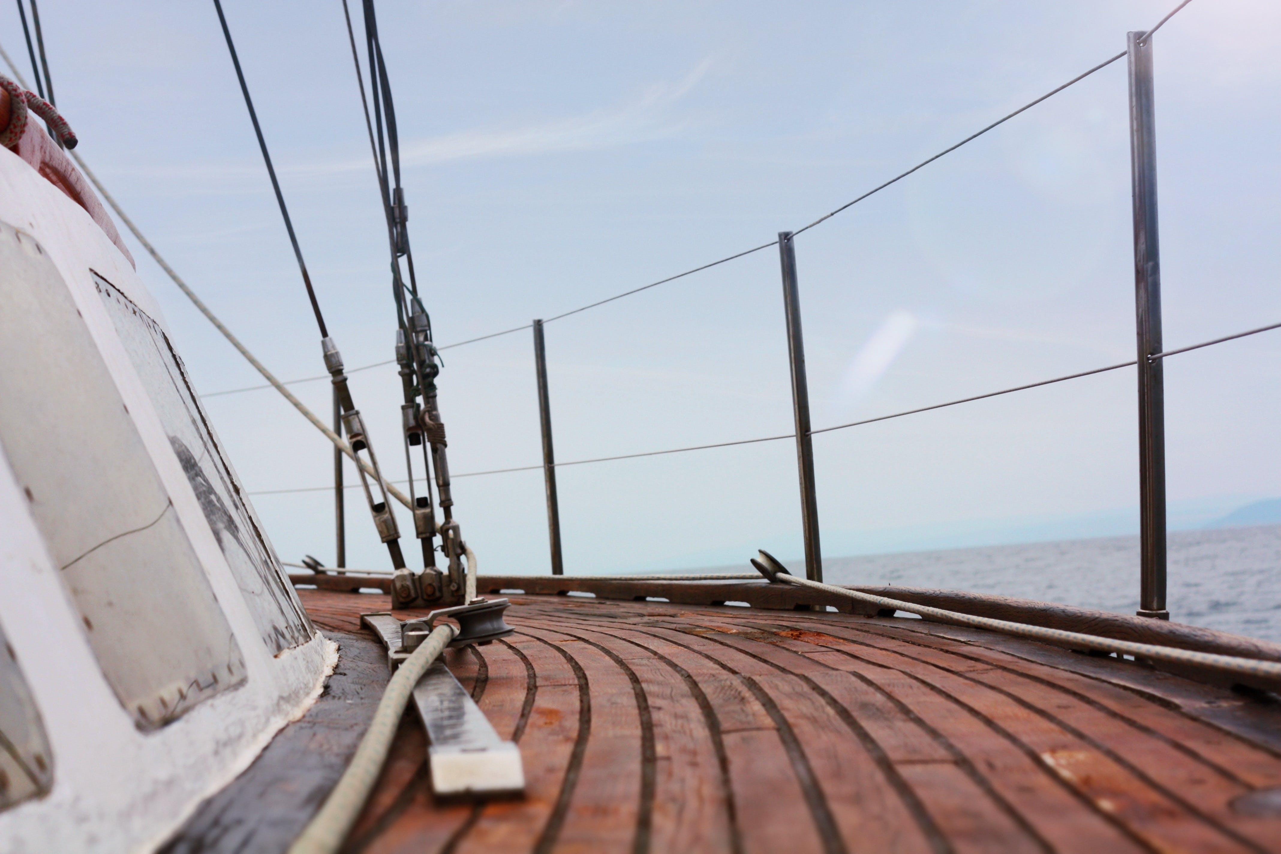 Free stock photo of Black Sea, boat, clear sky, islands
