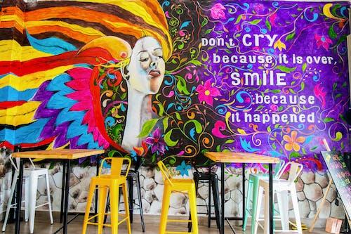 Бесплатное стоковое фото с веселье, граффити, дизайн, живопись