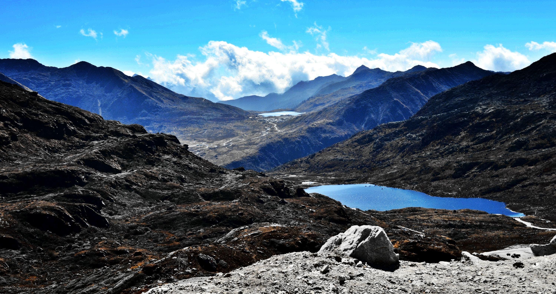 Free stock photo of 14000ft, blue mountains, blue sky, GANGTOK