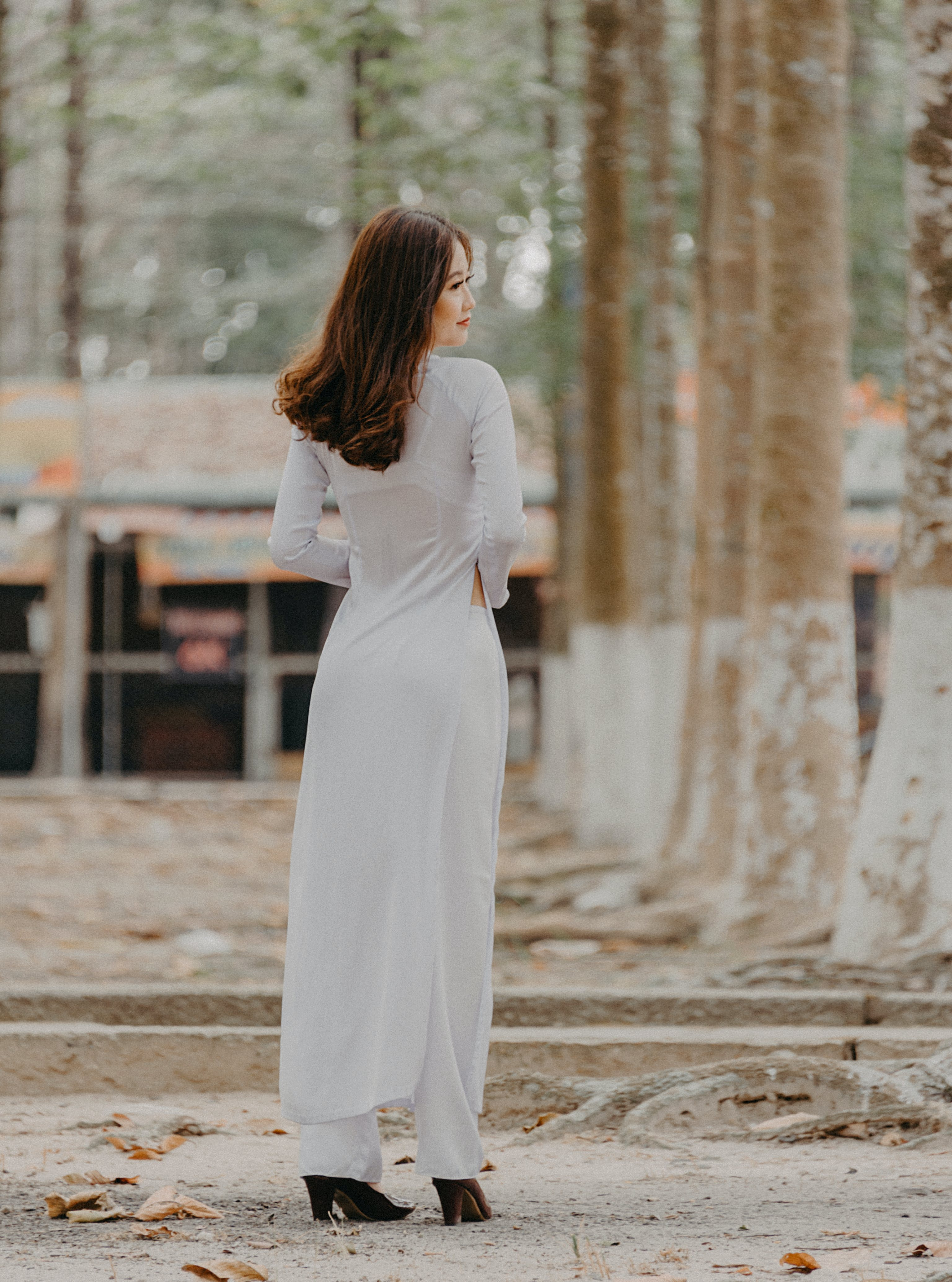 Photography of Woman Wearing White Dress