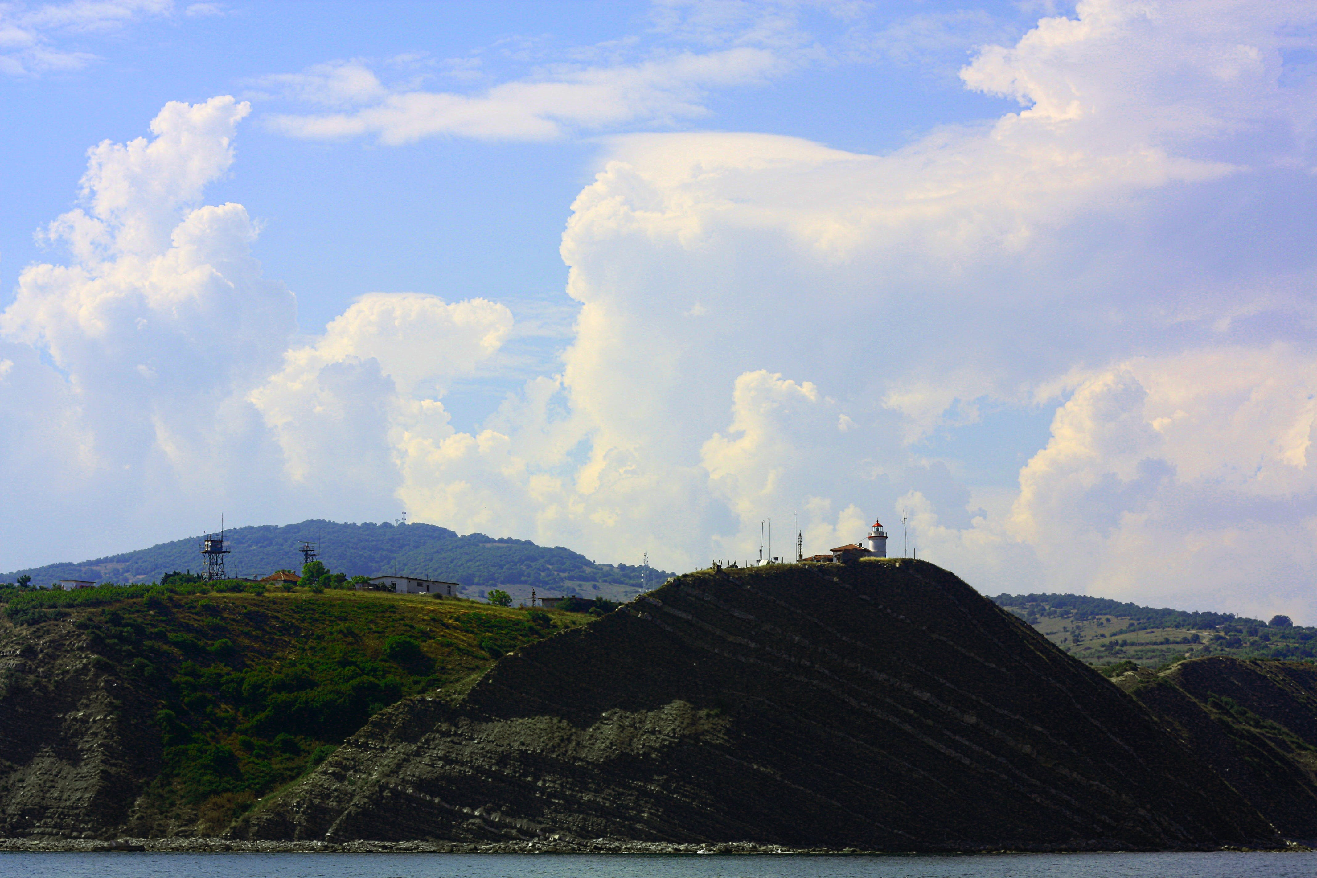 Free stock photo of sea, nature, mountain, seashore