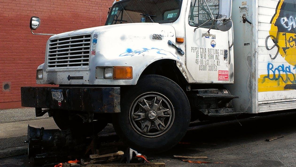 トラック, 前面, 屋台の無料の写真素材