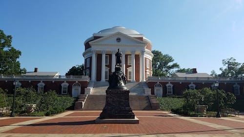 Free stock photo of Rotunda (UVA), University of Virginia