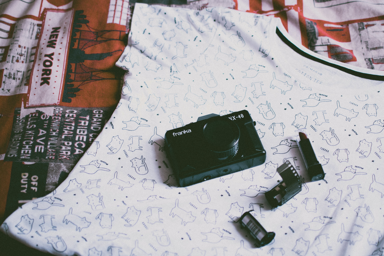 film, hemd, kamera