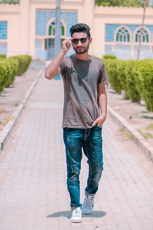 Gratis stockfoto met casual, fashion, gozer, hyderabad