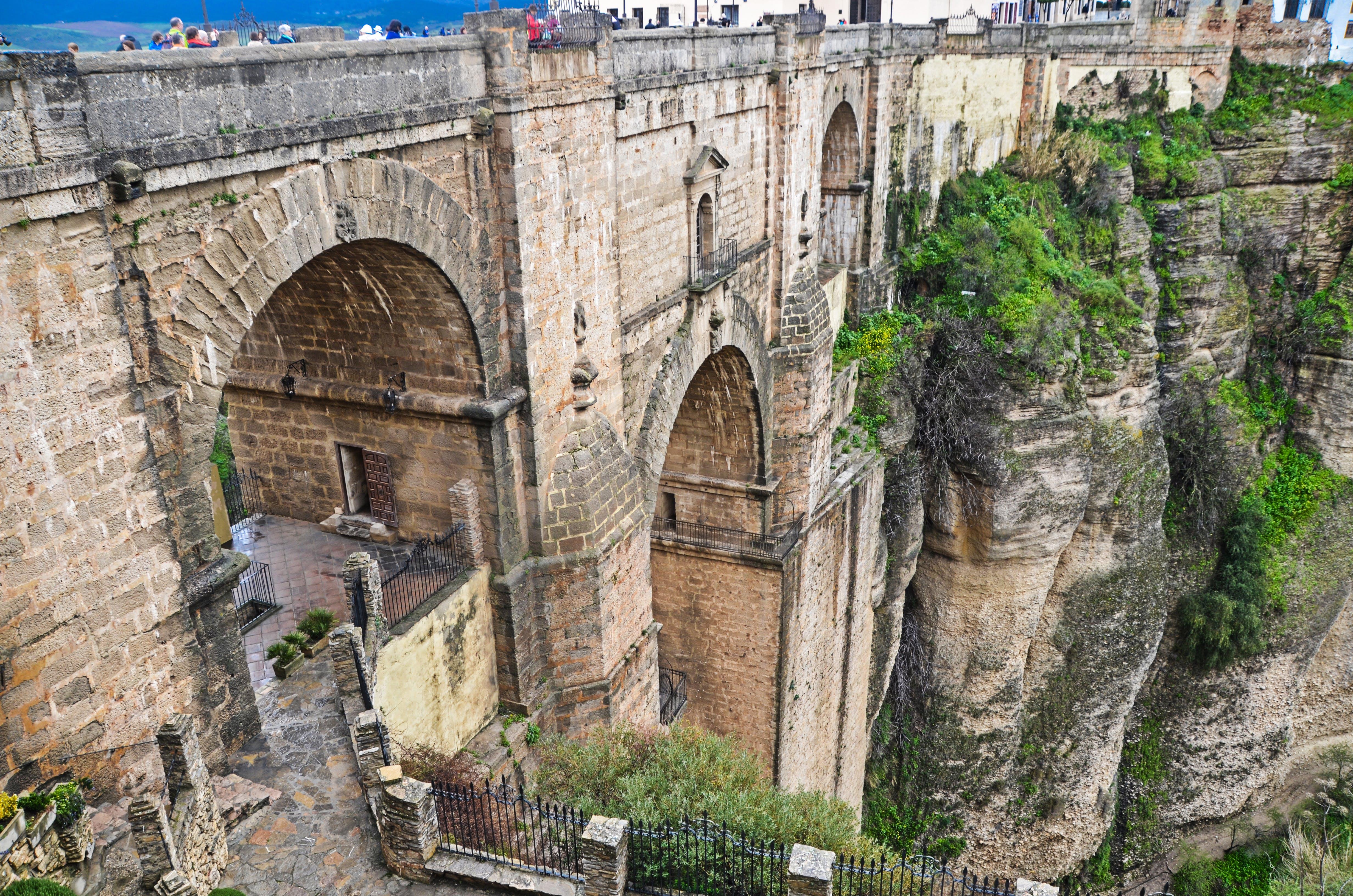 Free stock photo of arcos, piedra, Puente, puente de arco