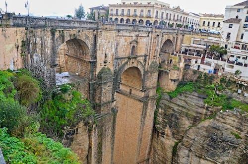 Free stock photo of arch bridge, arcos, piedra