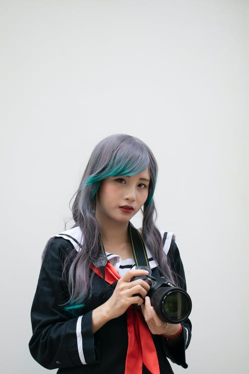 คลังภาพถ่ายฟรี ของ กล้อง, คน, น่ารัก, ผู้หญิง