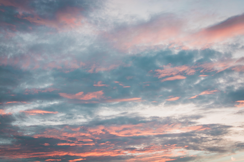 구름, 새벽, 자연