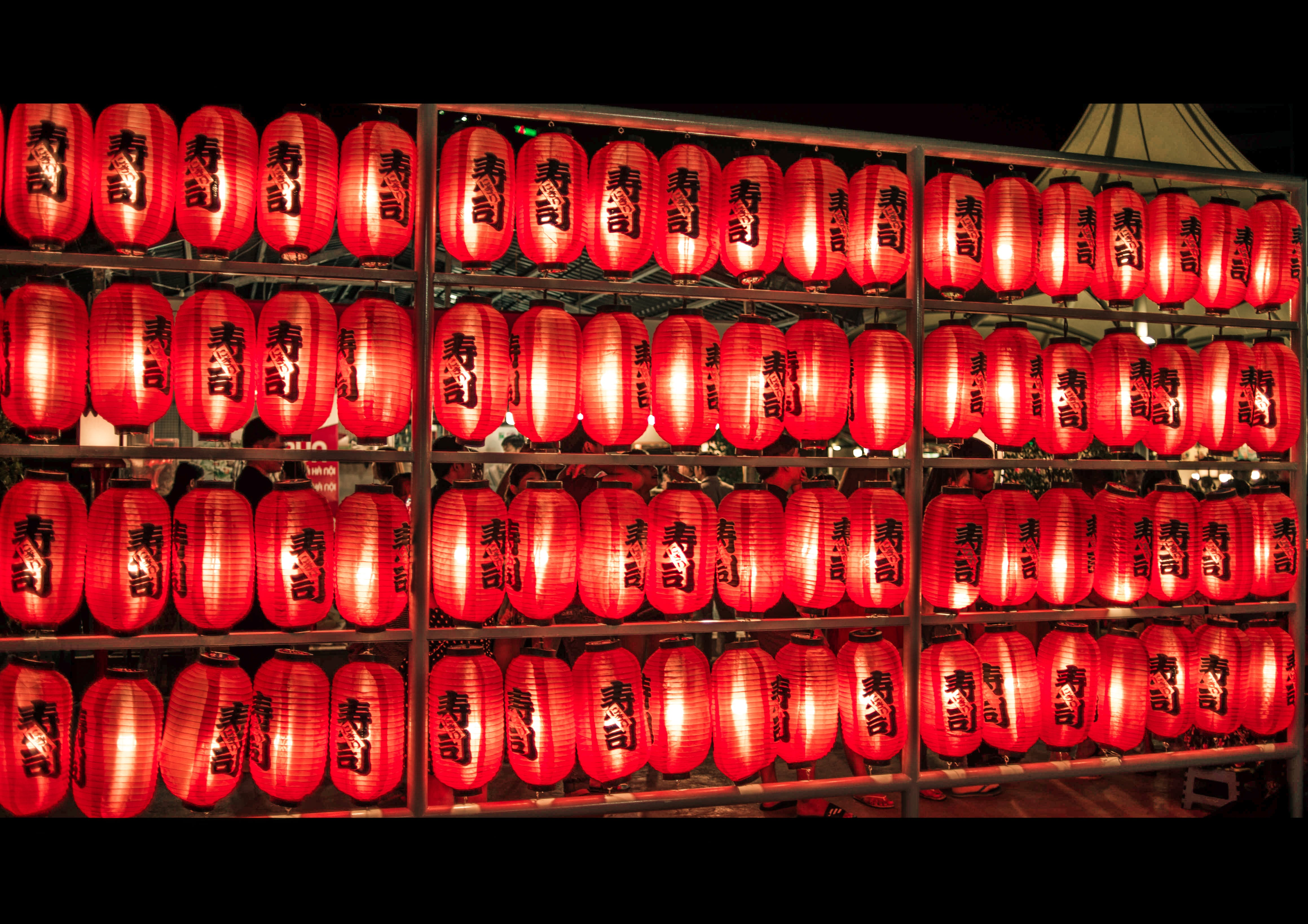 Free stock photo of light, holiday, red, art