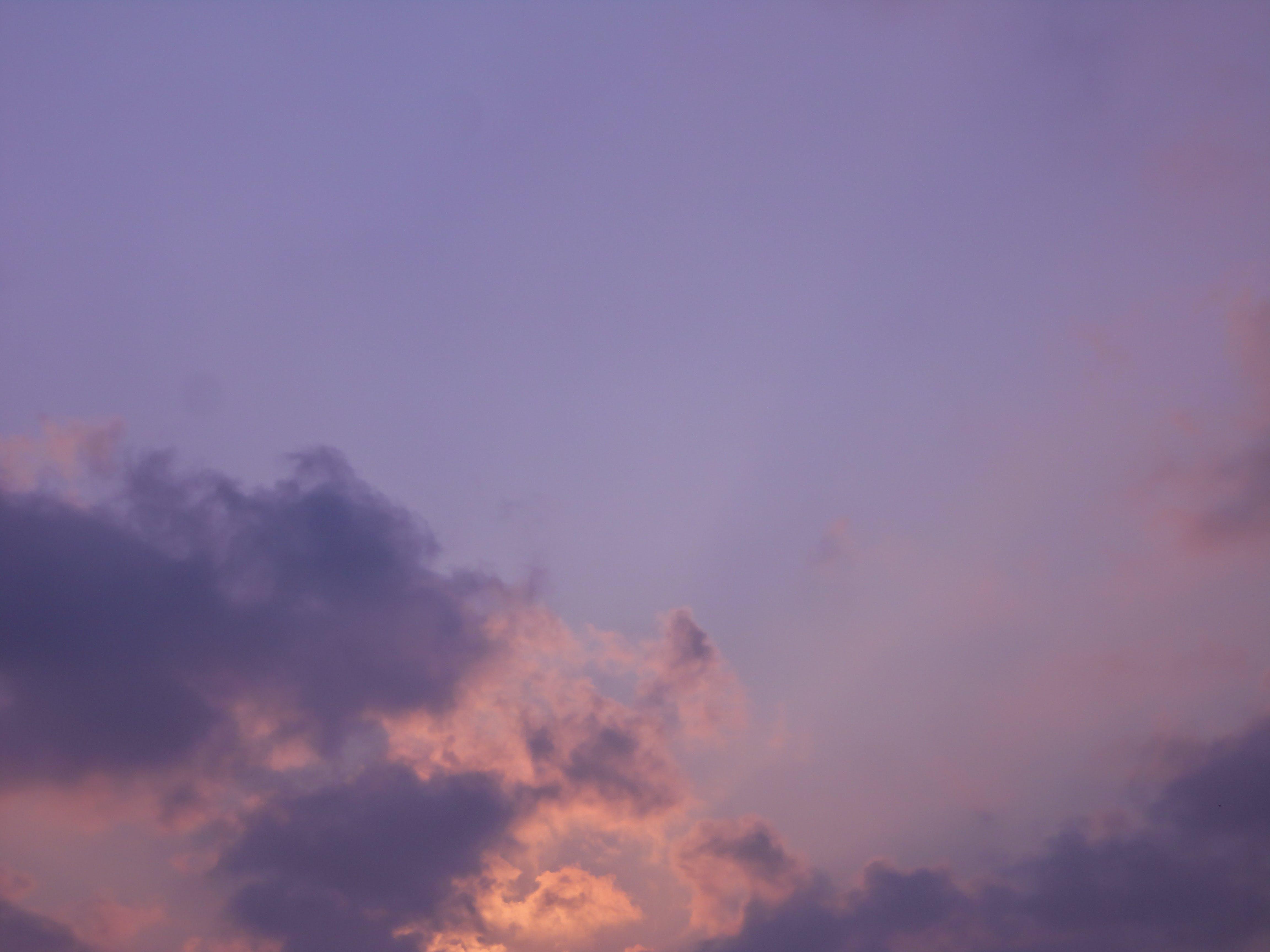 Free stock photo of nature, sunset, clouds, purple