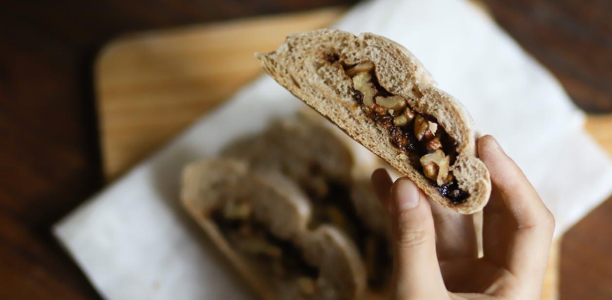bakverk, brød, makro