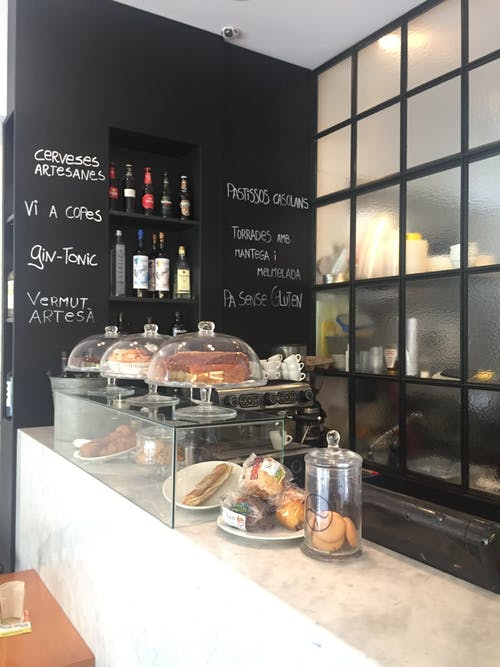 Free stock photo of bar cafe, barcelona, cafeteria, cakes