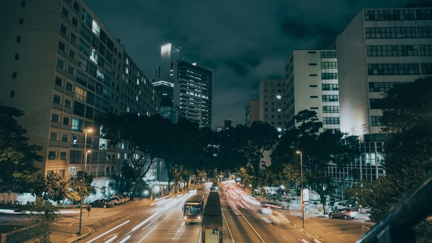 Landscape Photography of Cars at City during Nighttime
