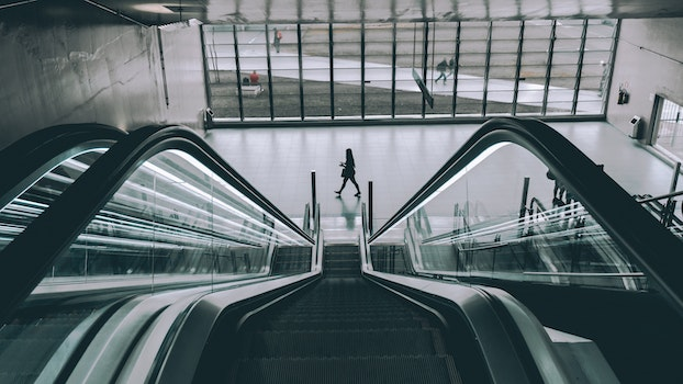 Free stock photo of stairs, people, building, architecture