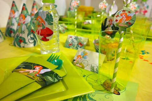 Free stock photo of fairy, green, party
