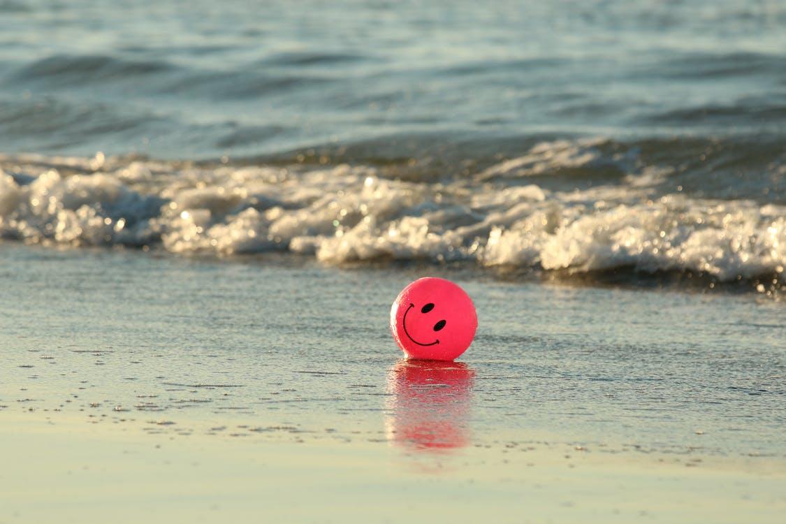 Бесплатное стоковое фото с круглый, мяч, океан