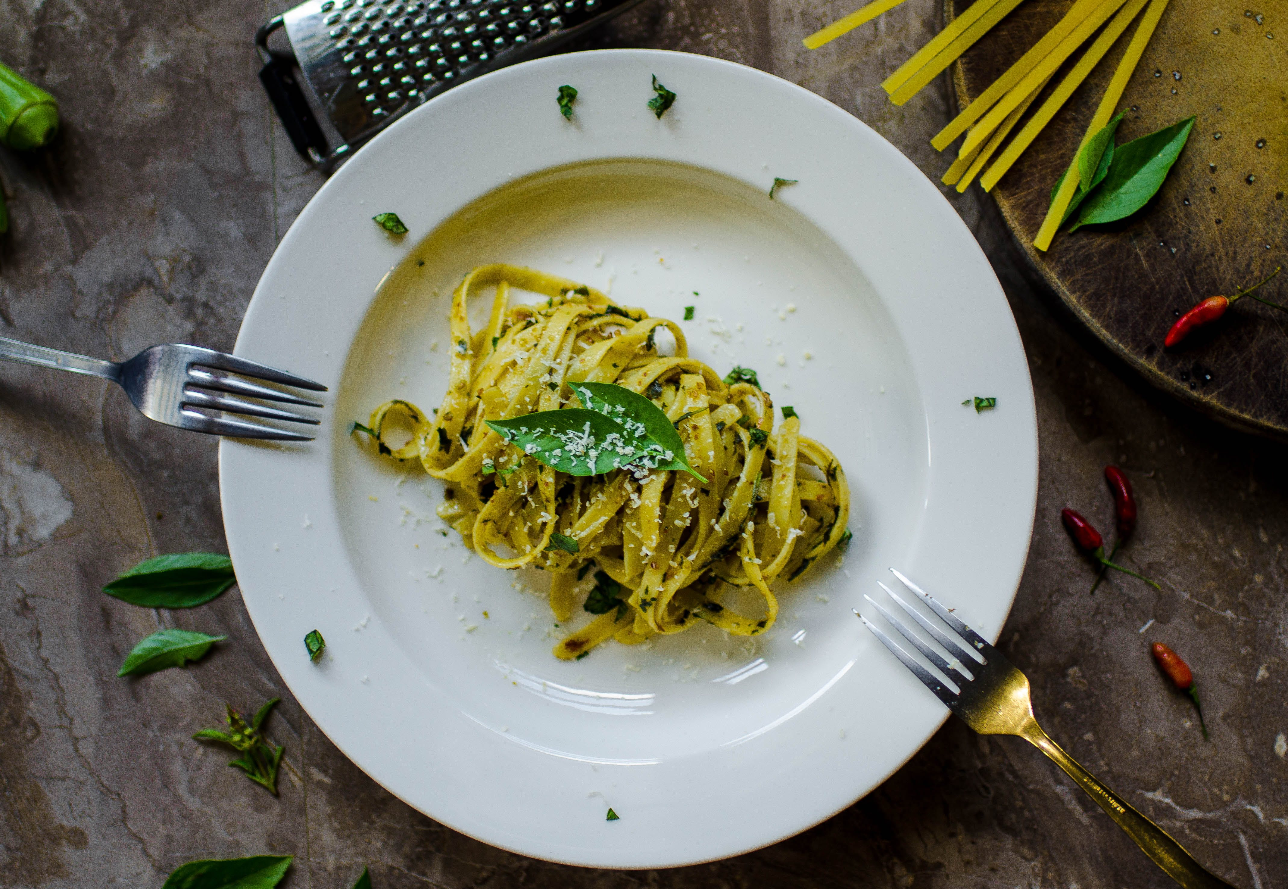 Pasta With Parmesan