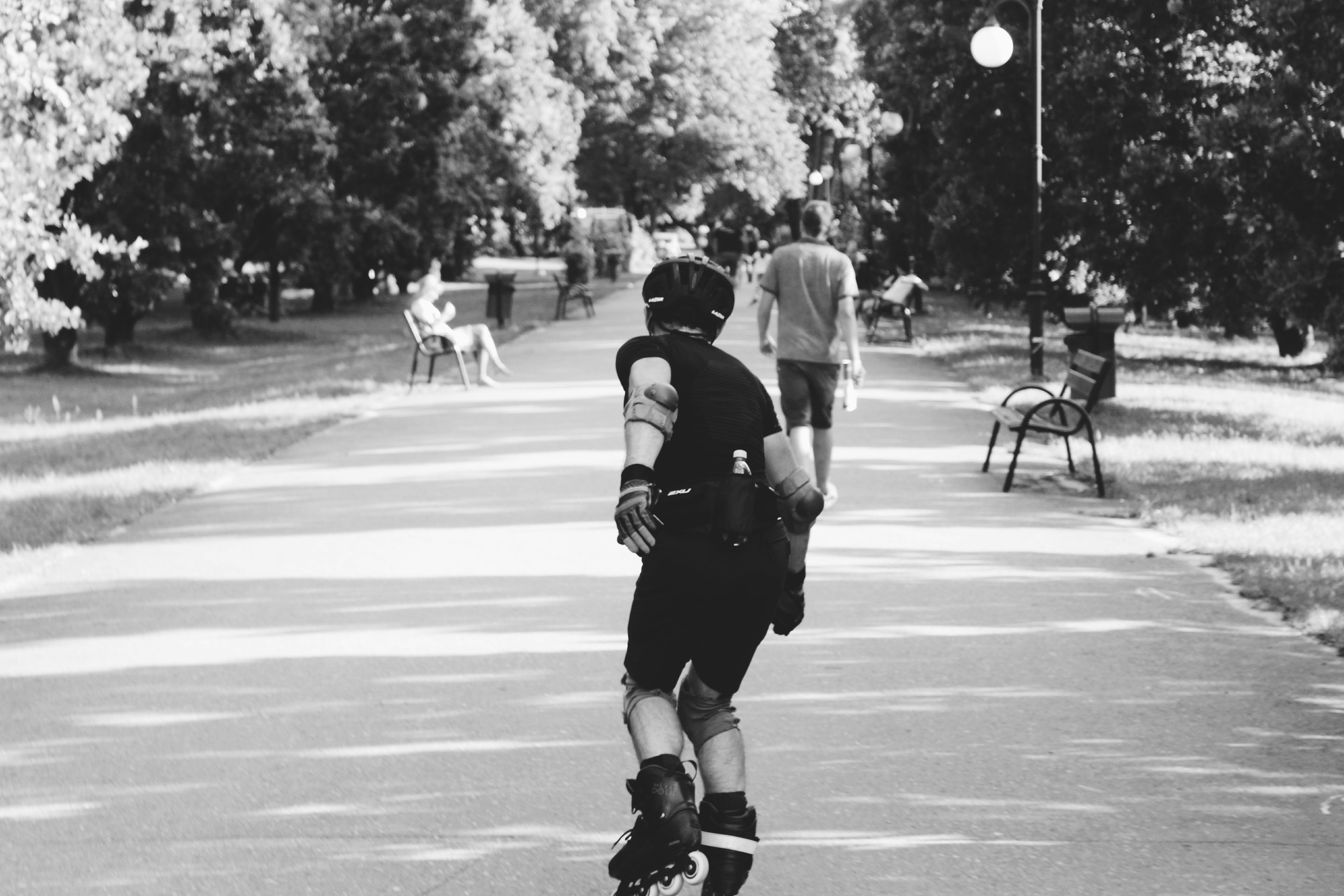 Person Skating At The Park