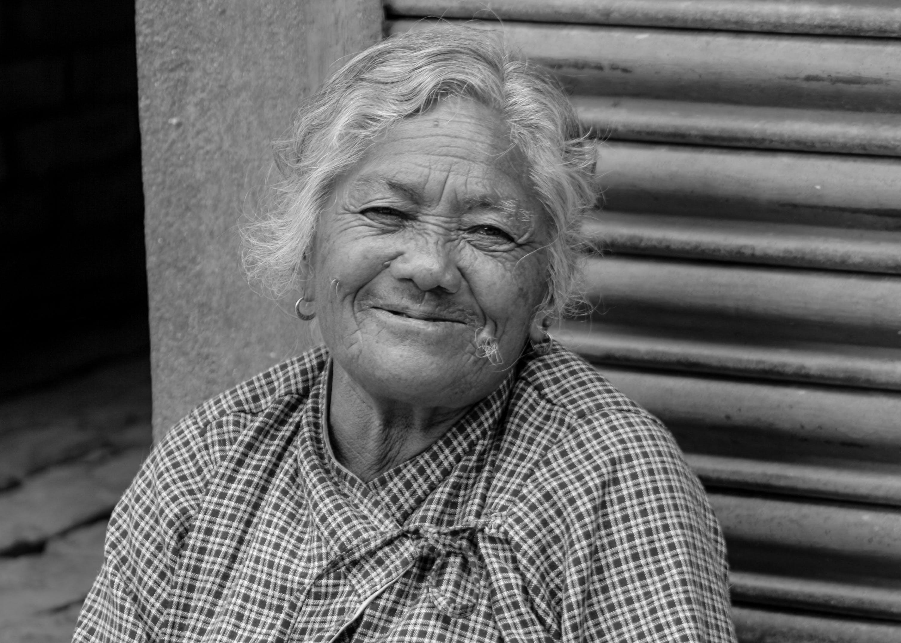 Free stock photo of black and white, happy, nepal, nepali women