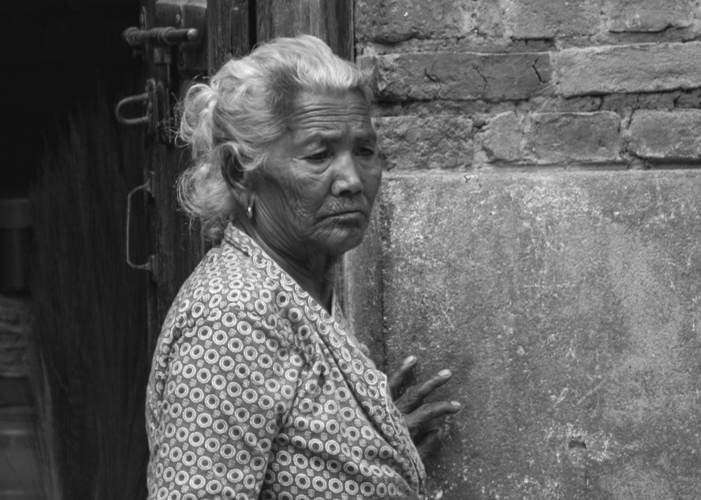 Free stock photo of black and white, kirtipur, nepal, nepali women