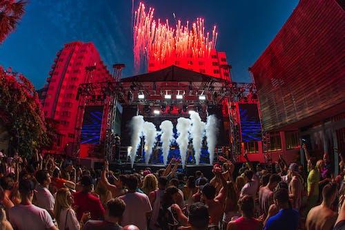 คลังภาพถ่ายฟรี ของ การแสดงแสงสี, คน, คอนเสิร์ต, งานเทศกาล