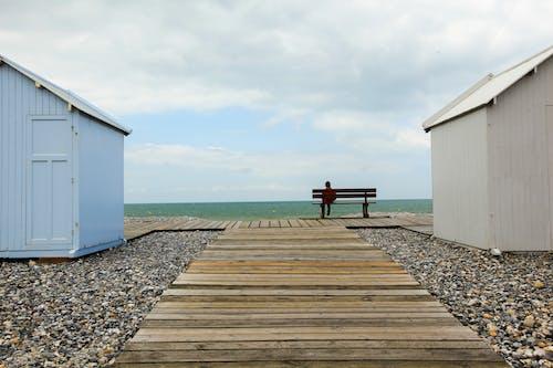 Free stock photo of beach, boy, france