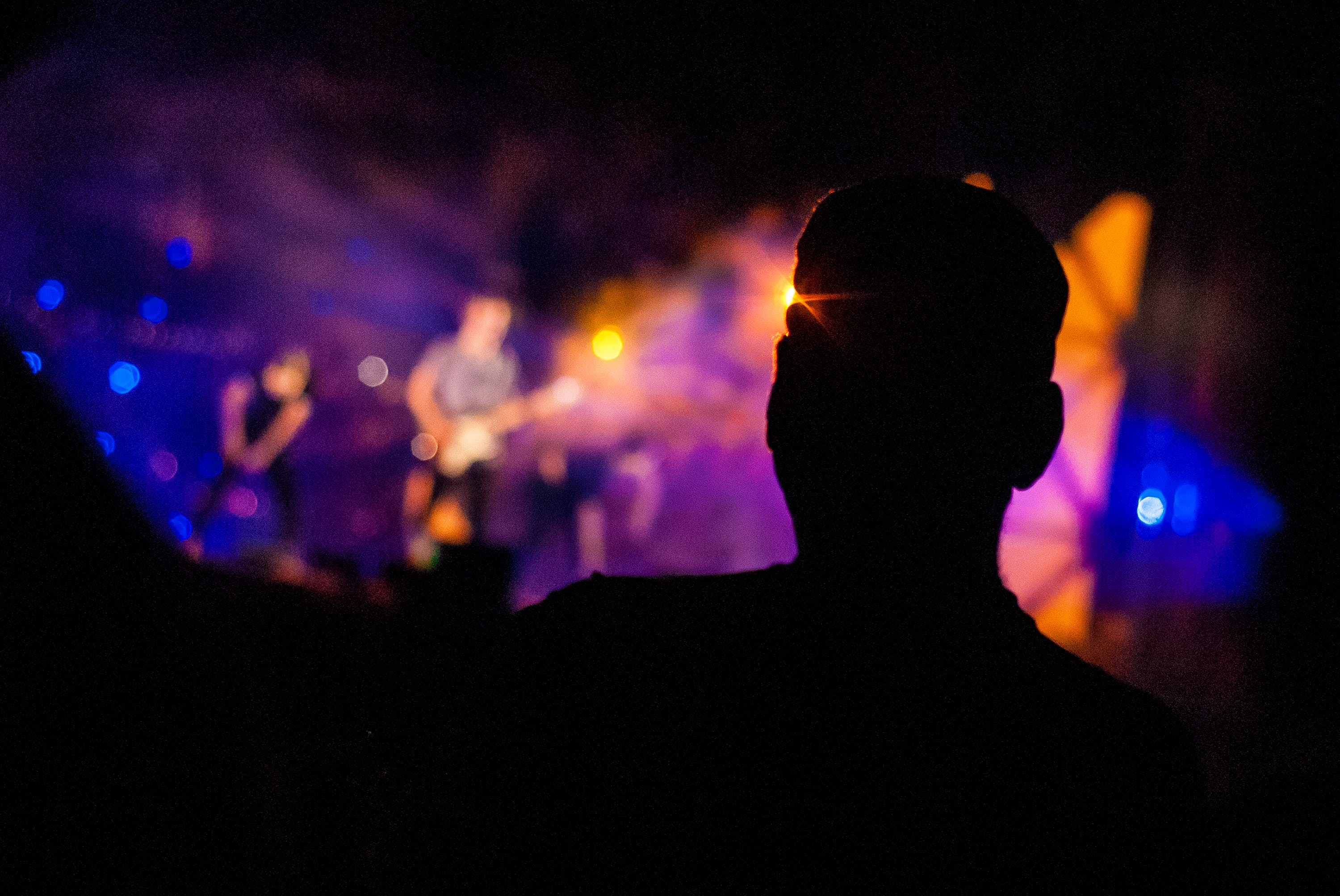 Free stock photo of band, crowd, music