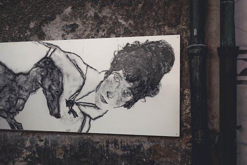 Imagine de stoc gratuită din alb-negru, artă, artistic, câine
