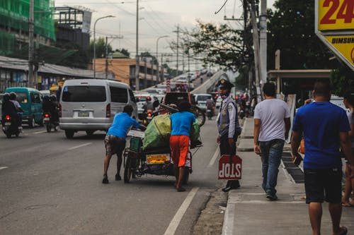 Free stock photo of carts, street photography