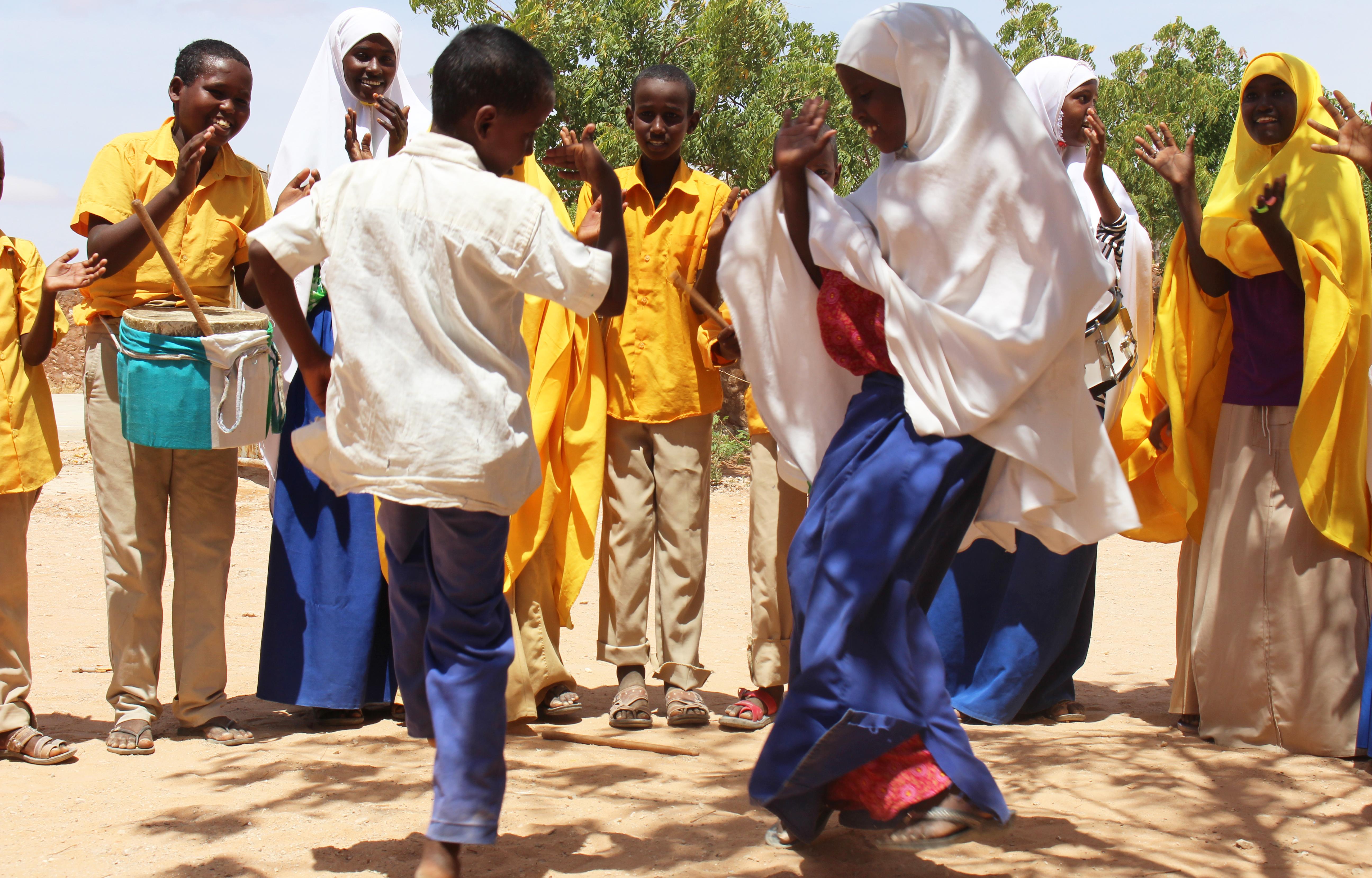 Szomáliai csatlakozni