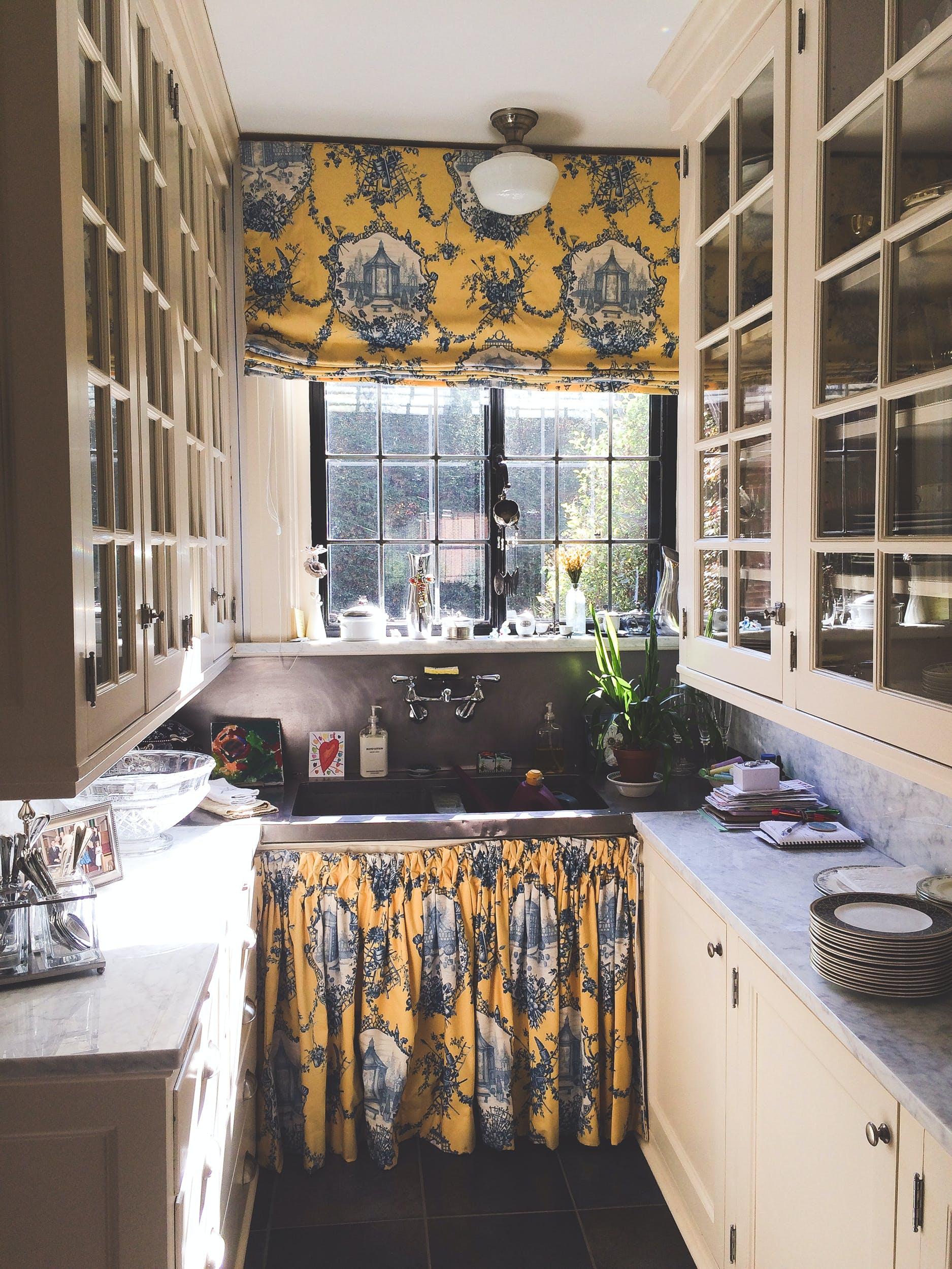 kitchen, light, sun