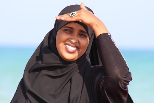 Foto profissional grátis de garota, hijab