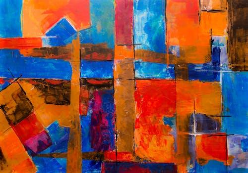 akrilik, akrilik boya, artistik, boyama içeren Ücretsiz stok fotoğraf