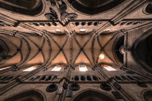 Ảnh lưu trữ miễn phí về ánh sáng mặt trời, ánh sáng và bóng tối, cửa sổ nhà thờ, giếng trời