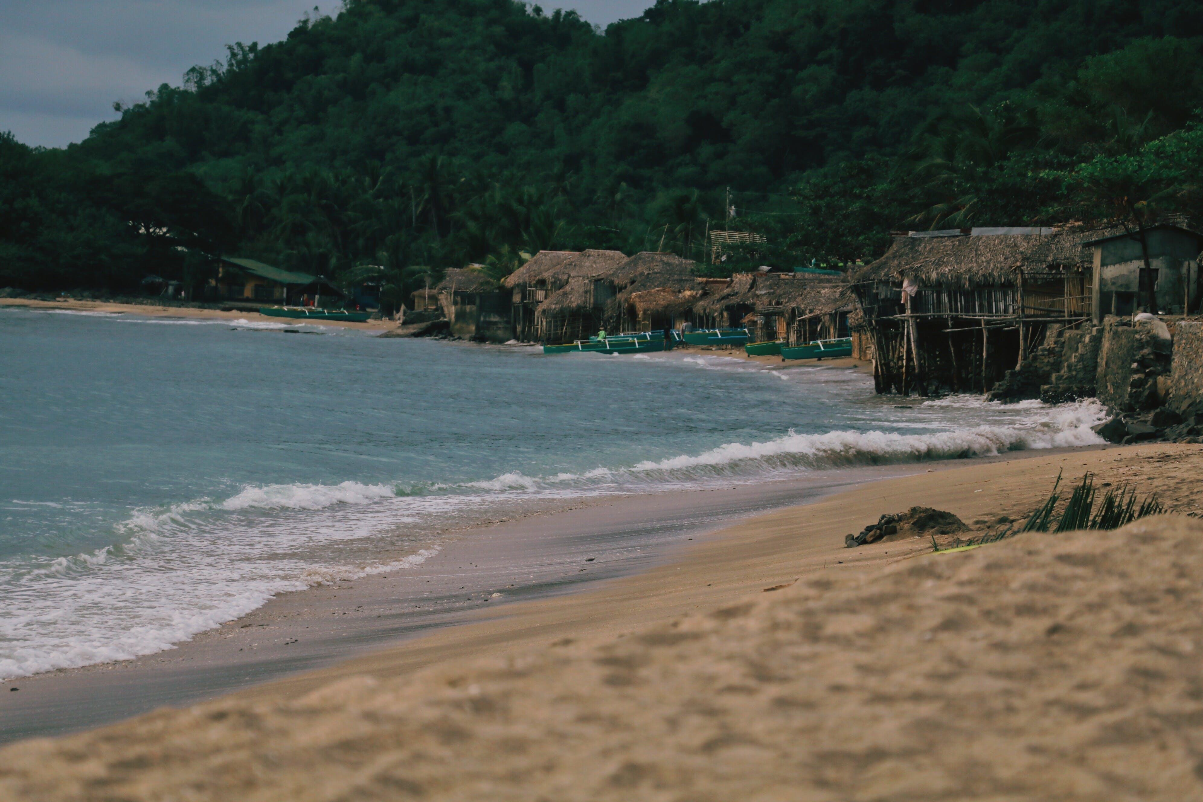Free stock photo of beach, beach view, house and beach, nature