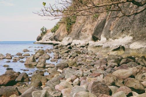 Ảnh lưu trữ miễn phí về bờ biển, sự hình thành đá, đá, đá trên bãi biển