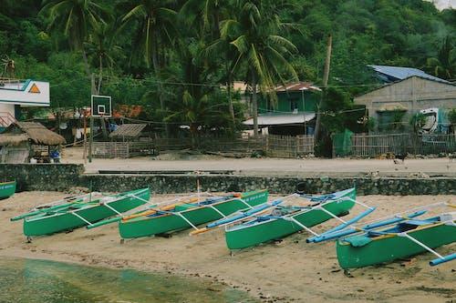 Ảnh lưu trữ miễn phí về thuyền ở bãi biển