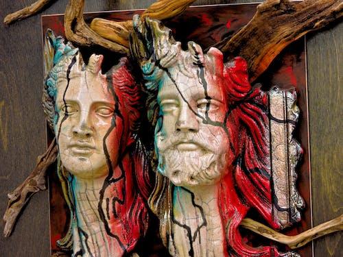 アート, マスク, 男性, 美術工芸の無料の写真素材