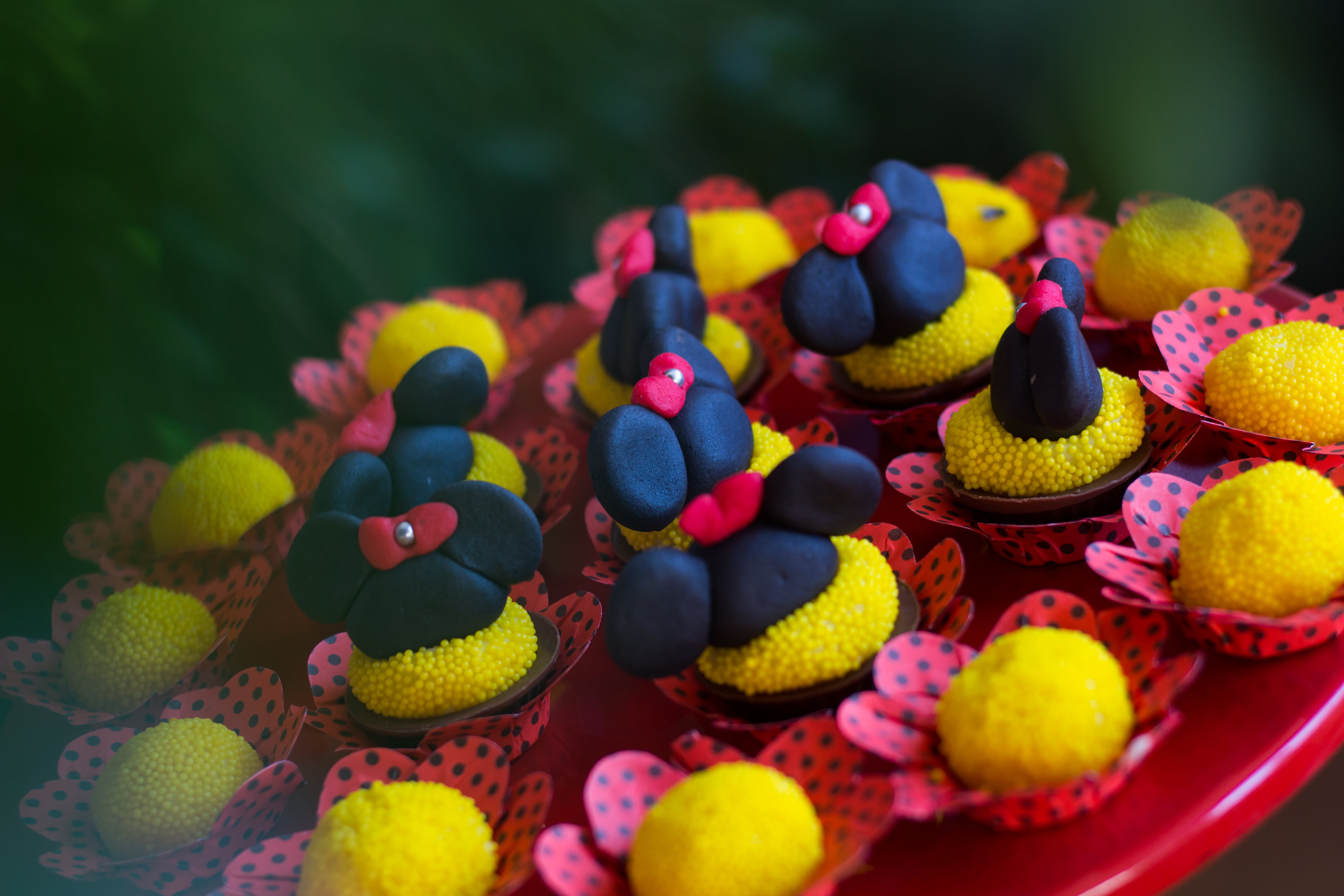 Free stock photo of birthday, candy, mickey mouse, minnie mouse