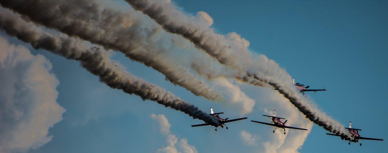 acrobatii arhaice, aeronave, aeroplane