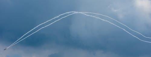 Free stock photo of airplane, blue sky, sky