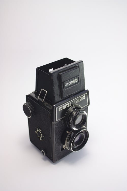 Gratis lagerfoto af analog, analogt kamera, antik, elektronik