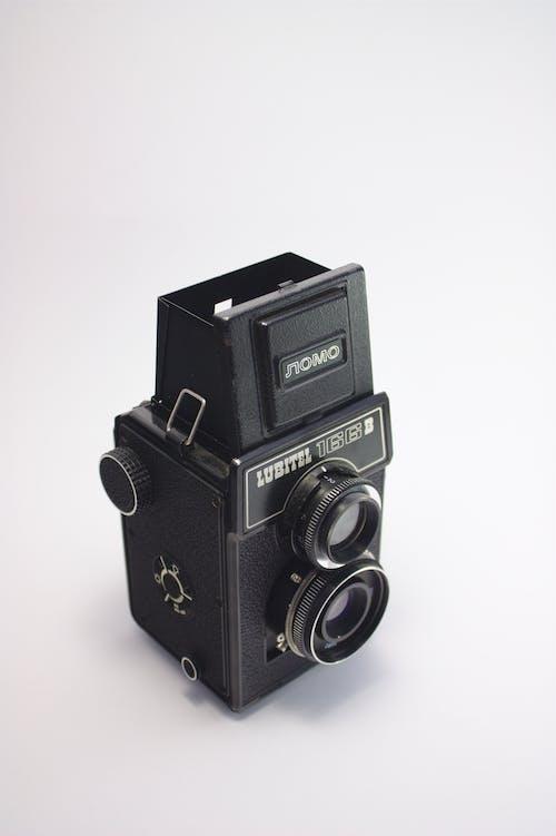 Základová fotografie zdarma na téma analogový, analogový fotoaparát, elektronika, fotoaparát