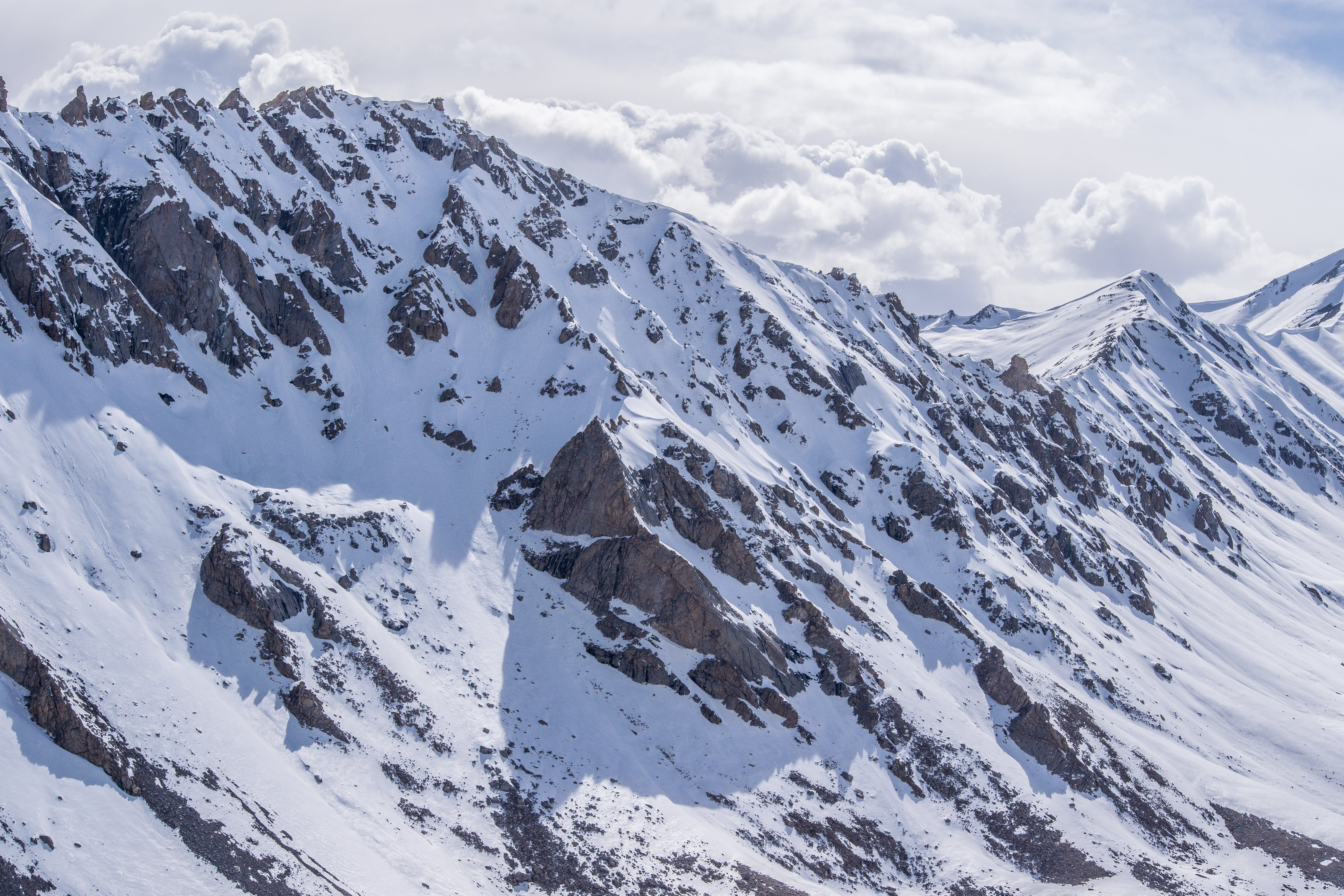 Photo of Beautiful Snow-Capped Mountain
