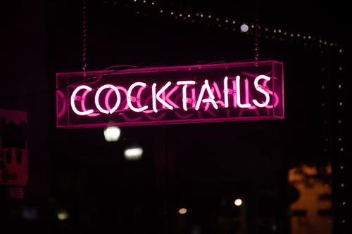 Cocktails Led Signage