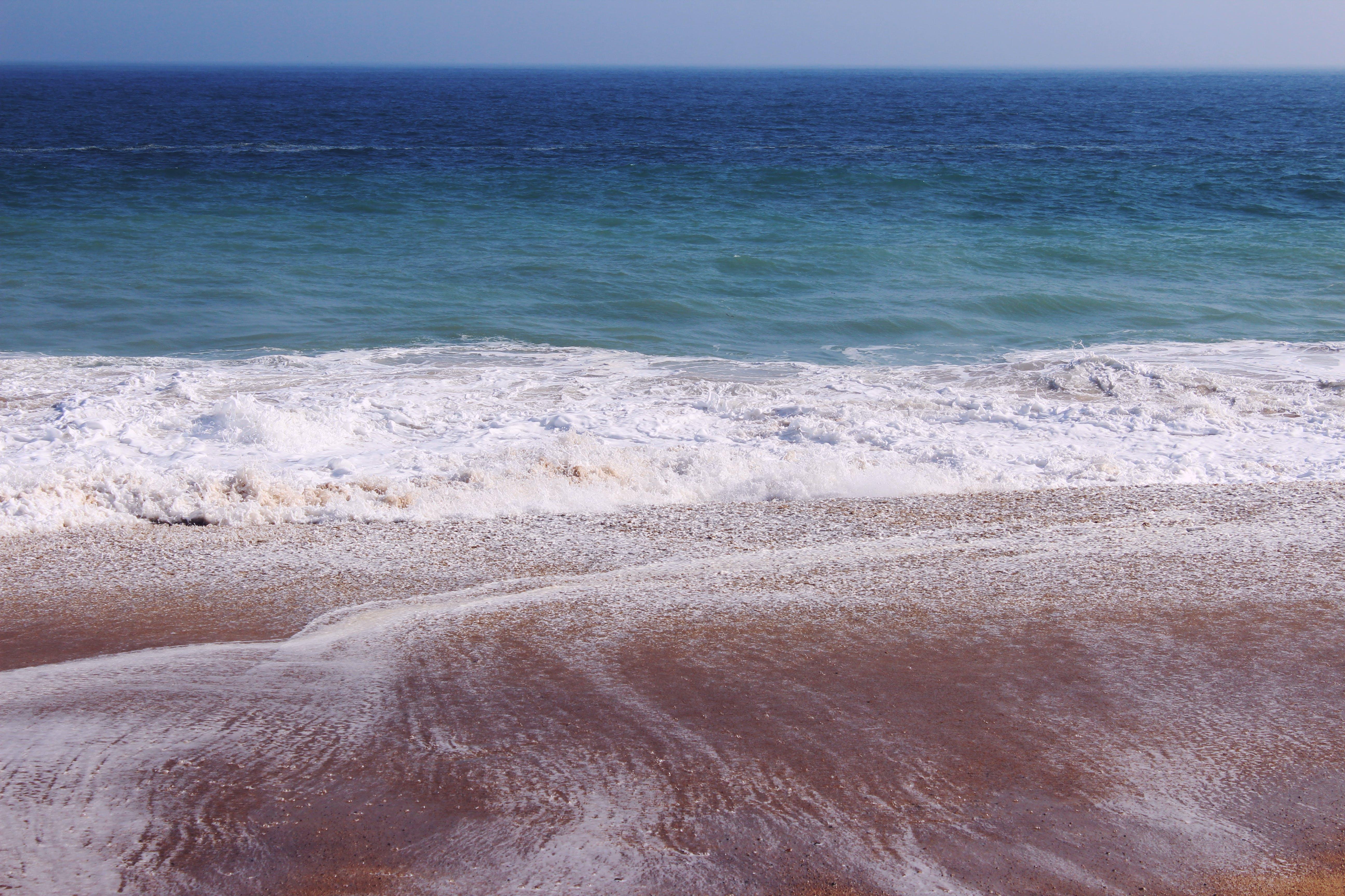 Δωρεάν στοκ φωτογραφιών με άμμος, αφρός της θάλασσας, γνέφω, γραφικός